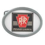 Hebilla del cinturón del logotipo del ferrocarril  hebillas de cinturon
