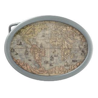 hebilla del cinturón del mapa hebillas cinturon