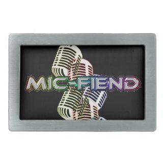 Hebilla del cinturón del micrófono hebilla de cinturon rectangular