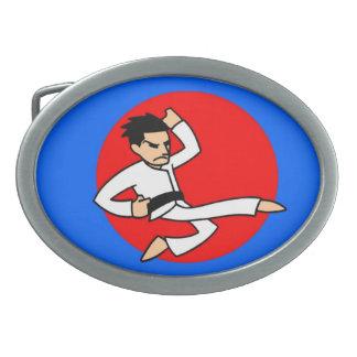 Hebilla del cinturón del muchacho de los artes mar hebillas cinturon ovales