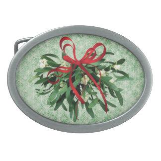 Hebilla del cinturón del muérdago del navidad hebillas de cinturon