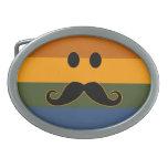 Hebilla del cinturón del orgullo del bigote hebilla de cinturon