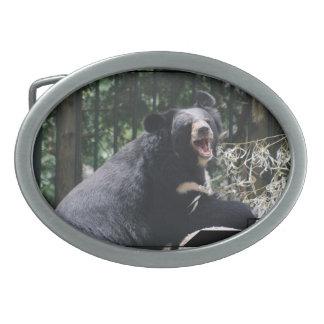 Hebilla del cinturón del oso el gruñir hebillas cinturón