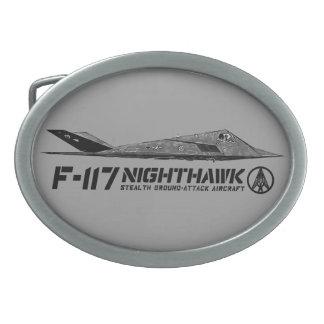 Hebilla del cinturón del óvalo del Nighthawk F-117 Hebilla Cinturón Oval