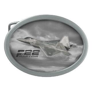 Hebilla del cinturón del óvalo del RAPAZ F-22 Hebillas Cinturón Ovales
