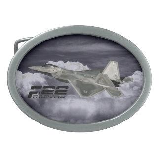 Hebilla del cinturón del óvalo del RAPAZ F-22 Hebillas Cinturon Ovales