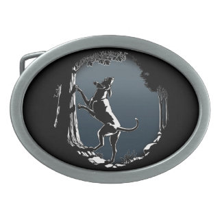 Hebilla del cinturón del perro de caza de la hebilla cinturon oval