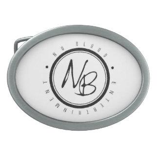 Hebilla del cinturón del personalizado de NBE Hebillas Cinturon Ovales