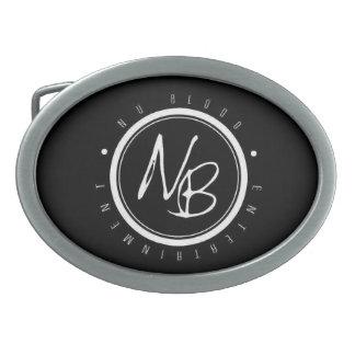 Hebilla del cinturón del personalizado de NBE Hebillas De Cinturón Ovales