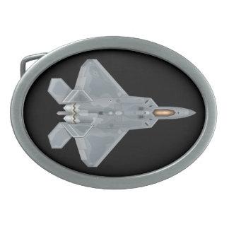 Hebilla del cinturón del rapaz F-22 Hebilla Cinturón Oval