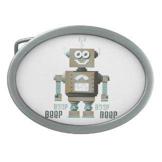 Hebilla del cinturón del robot del juguete de la s hebilla de cinturón
