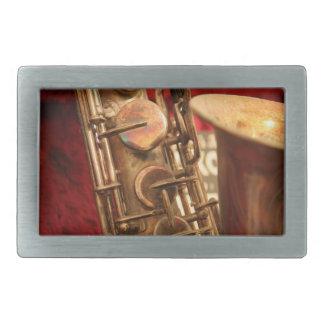 Hebilla del cinturón del saxofón hebillas de cinturón rectangulares