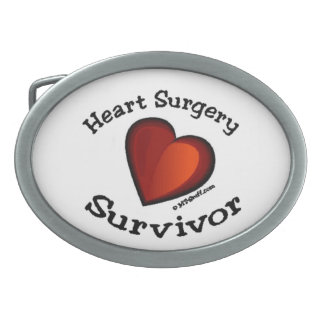 Hebilla del cinturón del superviviente de la cirug hebillas de cinturón ovales