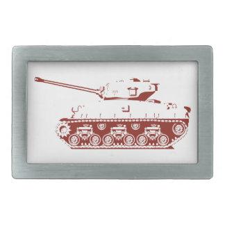 Hebilla del cinturón del tanque (roja) hebillas cinturon