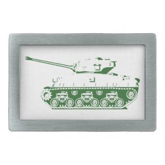 Hebilla del cinturón del tanque (verde) hebilla de cinturón rectangular