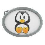 hebilla del cinturón del tux del pingüino del bebé hebillas de cinturón