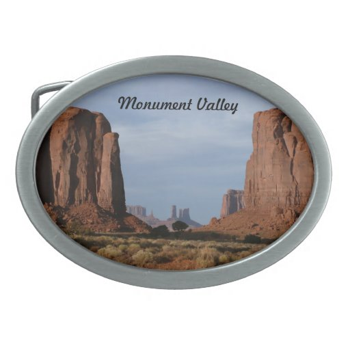Hebilla del cinturón del valle del monumento hebilla cinturon