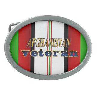 Hebilla del cinturón del veterano de Afganistán Hebilla De Cinturon