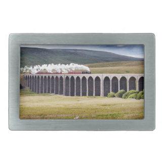 Hebilla del cinturón del viaducto de Ribblehead Hebillas Cinturón Rectangulares