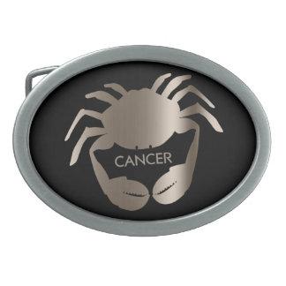 Hebilla del cinturón del zodiaco del cangrejo del  hebilla cinturón oval
