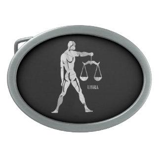 Hebilla del cinturón del zodiaco del libra hebillas cinturon ovales
