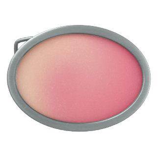 Hebilla del cinturón espiral rosada hebillas de cinturon