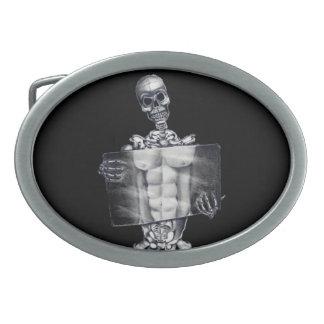 Hebilla del cinturón esquelética de la radiografía hebillas de cinturon