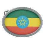 Hebilla del cinturón etíope de la bandera hebilla cinturón