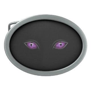 hebilla del cinturón fantasmagórica de los ojos hebillas de cinturon ovales