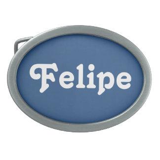 Hebilla del cinturón Felipe Hebilla Cinturón Oval