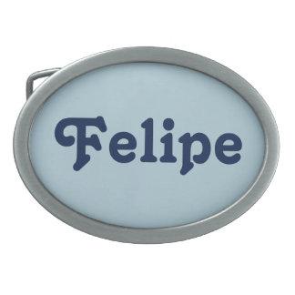 Hebilla del cinturón Felipe Hebilla De Cinturón Oval