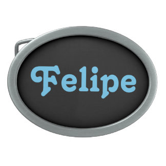 Hebilla del cinturón Felipe Hebillas Cinturon Ovales