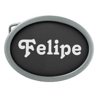 Hebilla del cinturón Felipe Hebillas De Cinturón Ovales