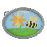 Hebilla del cinturón feliz de la abeja hebillas de cinturon
