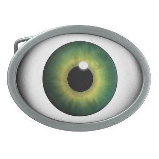 Hebilla del cinturón fresca del globo del ojo del  hebillas de cinturón