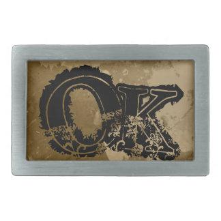 Hebilla del cinturón fresca para los hombres con i hebillas de cinturon rectangulares