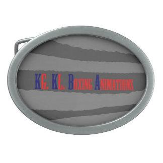 Hebilla del cinturón hebillas cinturon ovales