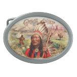 Hebilla del cinturón india hebilla cinturon oval