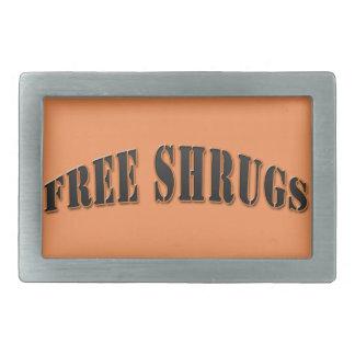Hebilla del cinturón libre divertida anaranjada de hebillas cinturon rectangulares