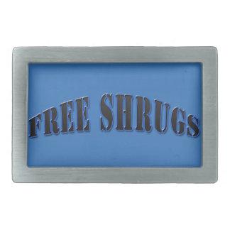 Hebilla del cinturón libre divertida azul de los hebillas cinturon rectangulares