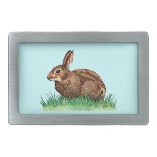 hebilla del cinturón linda del conejo hebilla de cinturón rectangular