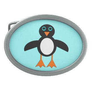 Hebilla del cinturón linda del pingüino hebilla cinturon