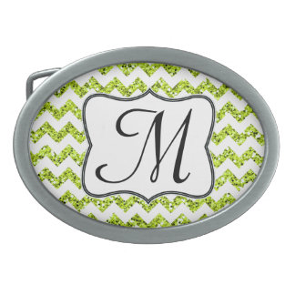 Hebilla del cinturón moderna del monograma de hebilla cinturón oval