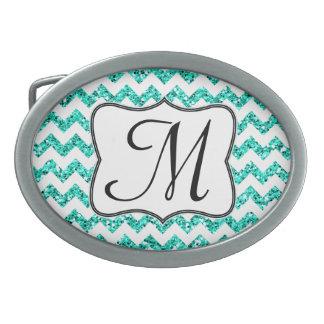Hebilla del cinturón moderna del monograma de hebillas de cinturon ovales