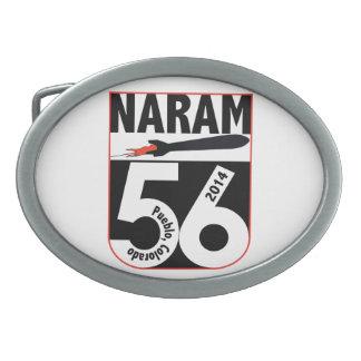Hebilla del cinturón NARAM56 (opción oval y simple Hebillas Cinturón Ovales