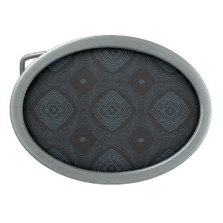 Hebilla del cinturón negra y azul del modelo moder hebilla cinturon oval