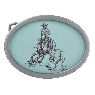 Hebilla del cinturón occidental del vaquero del ca hebillas de cinturon
