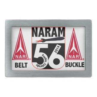 Hebilla del cinturón oficial NARAM56 Hebilla De Cinturon Rectangular
