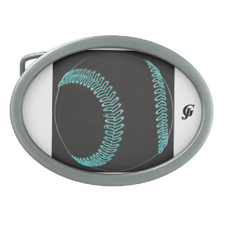 Hebilla del cinturón oval de encargo hebilla cinturon oval