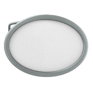 Hebilla del cinturón oval hebillas de cinturon ovales